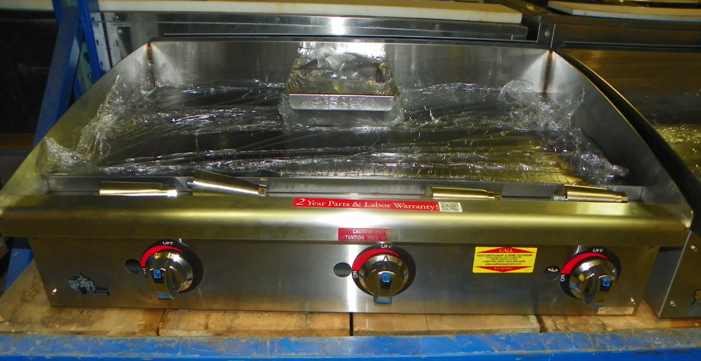 New Star New Star 36 Manual Griddle - 636-MF