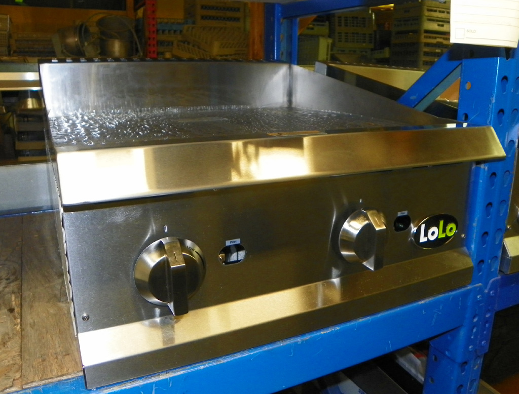 """New Lolo New Lolo 24""""  Thermostatically Controlled Griddle - LG24M"""