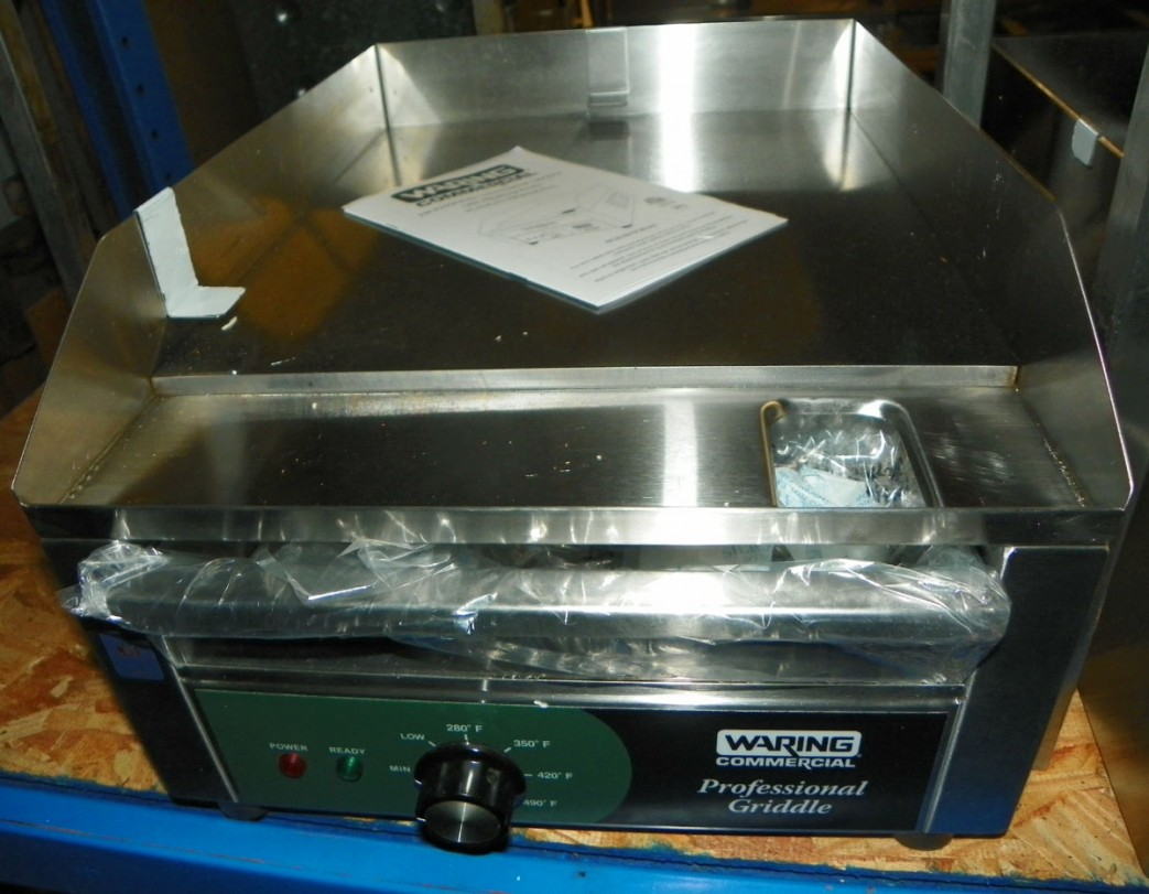 New Waring 24: Electric Griddle - WGR240