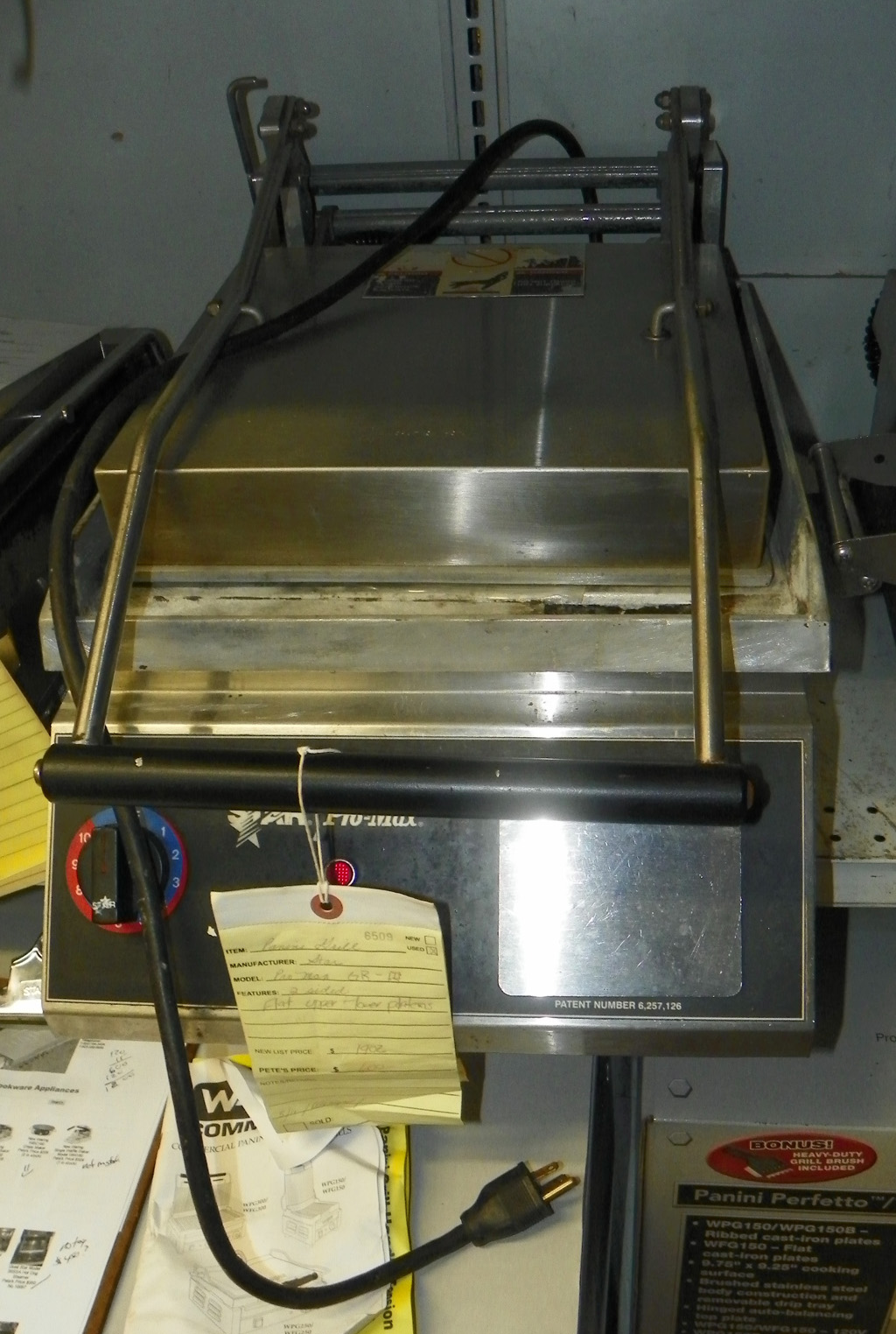 Used Star Used Star Panini Grill - GR-14