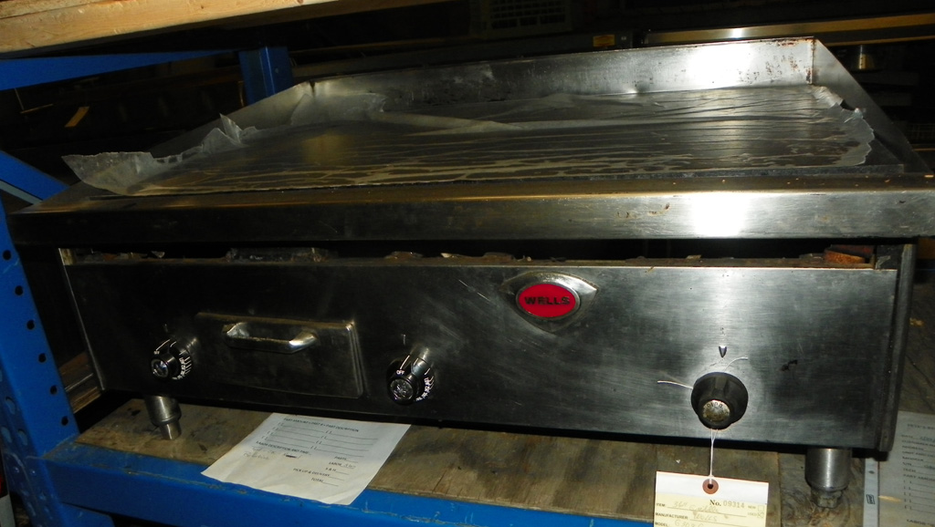 "Used Wells Used 36"" Wells Griddle - G3036"