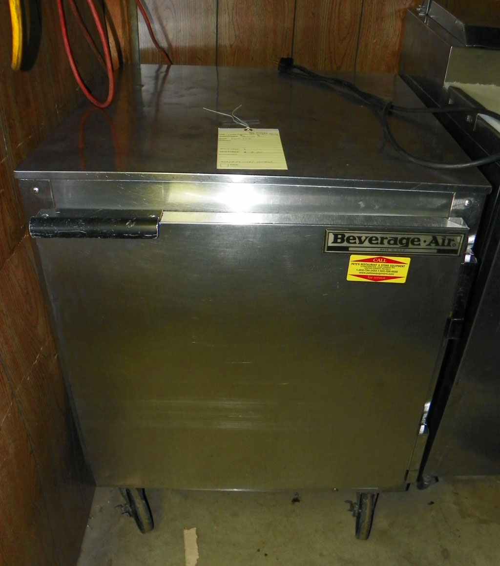Used Beverage Air 27 Quot Undercounter Cooler Ucr27 Pete S