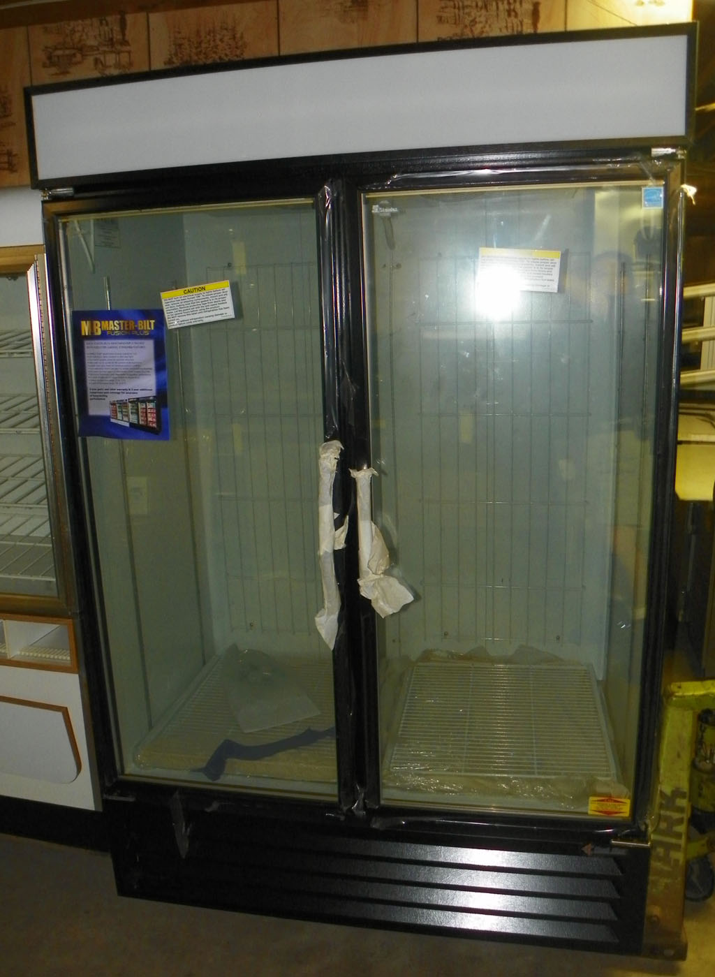 New KoolStar 2 Door Merchanding Freezer - KSGFP48