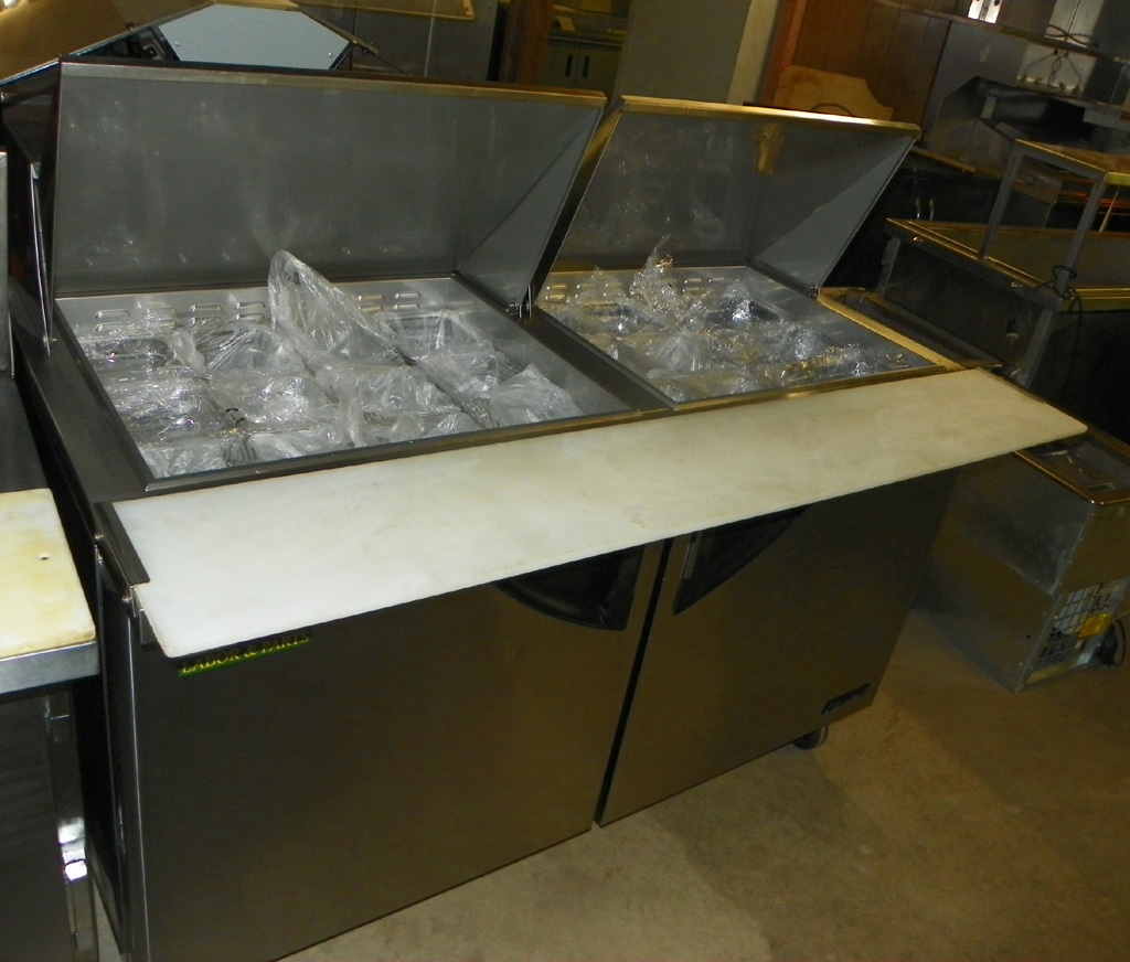 "Used Turbo Air 60"" Megatop Sandwich Unit - TST 60-24"