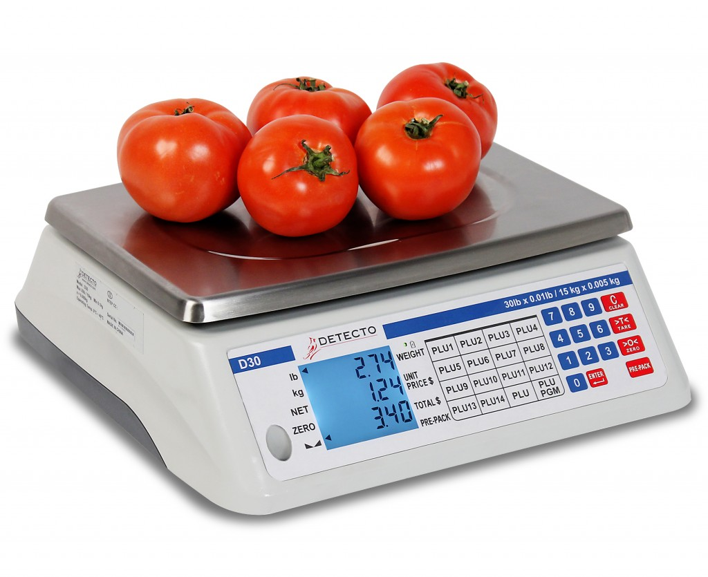 New Detecto New 30# Scale - D-30