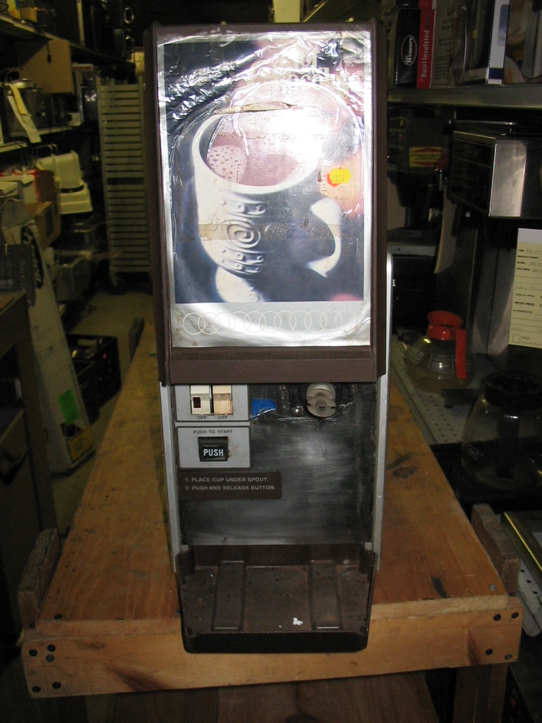 Jet Spray Used Hot Chocolate Dispenser - HCL3A - Pete's Restaurant ...