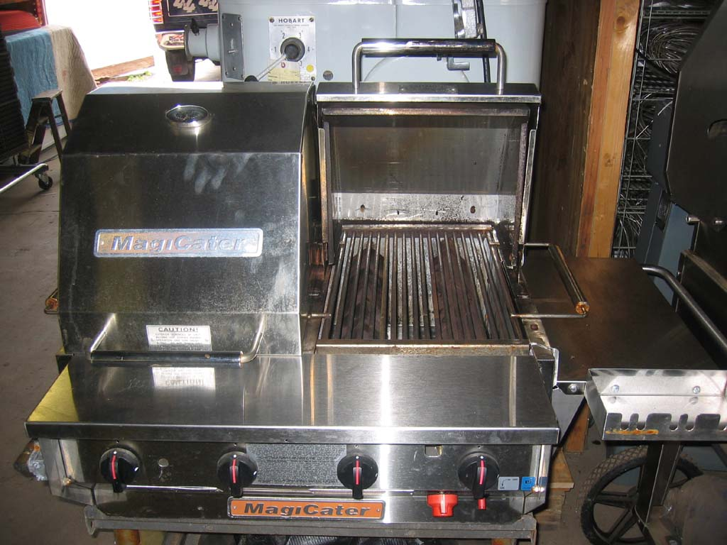 Used commercial kitchen equipment - Used Magi Cater 30 Commercial Catering Broiler Mcss 3