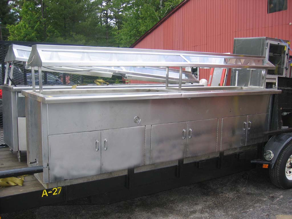Electric Petes Restaurant Equipment - Used buffet steam table for sale