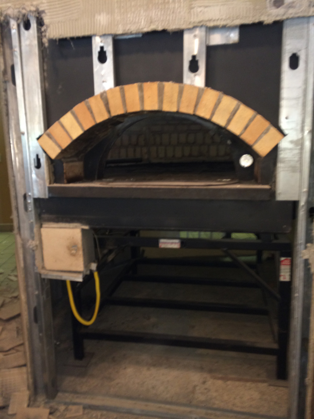 Used Pizza Ovens For Sale >> Used Pizza Oven Bravo Gas Fired Brick Brv 180 Pete S Restaurant