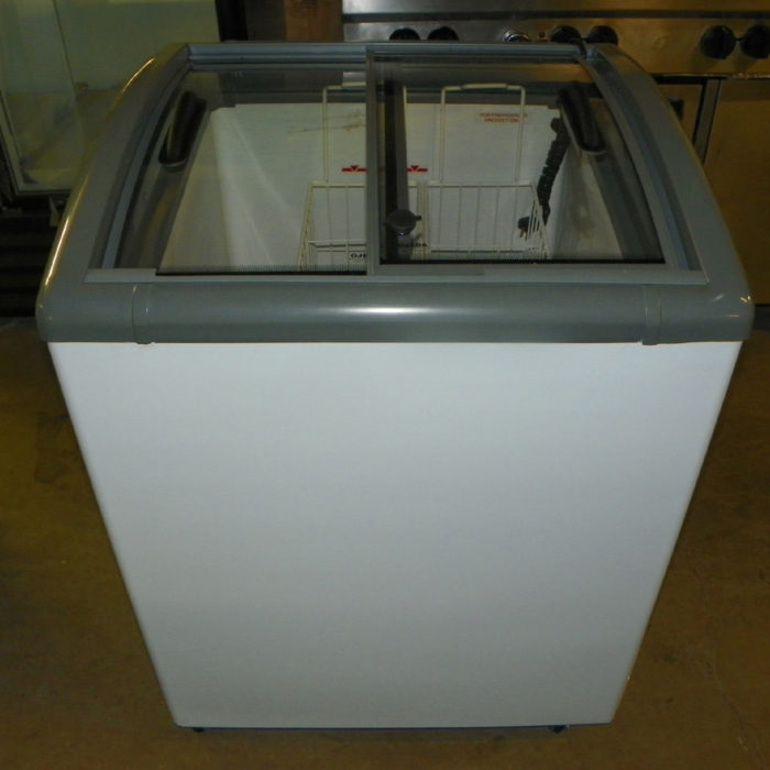 New Ojeda Sliding Glass Top Novelty Freezer - NB-28