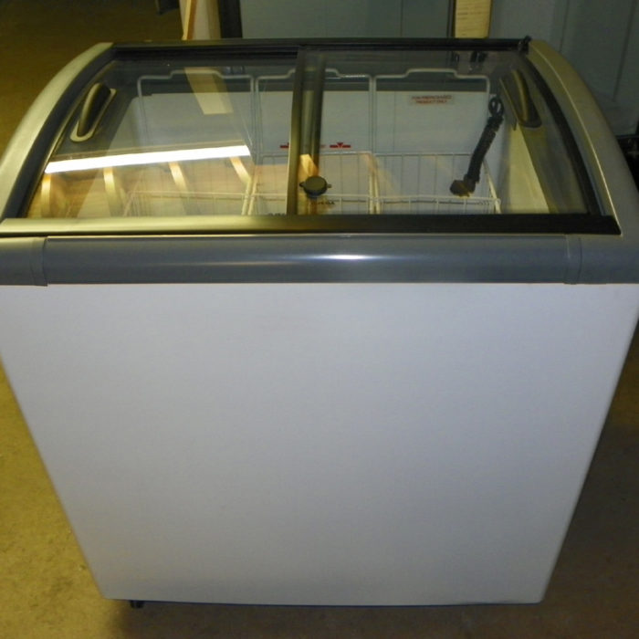New Ojeda Sliding Glass Top Novelty Freezer - NB-34