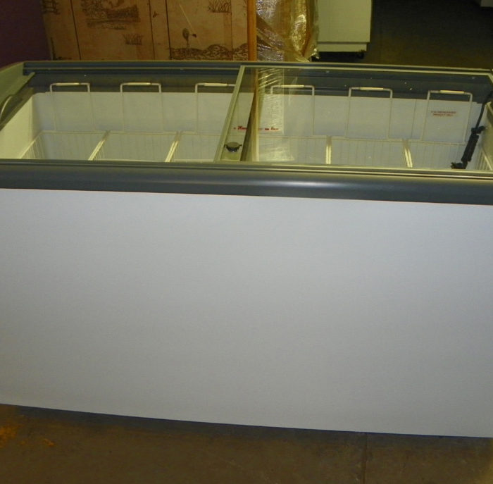 New Ojeda Sliding Glass Top Novelty Freezer - NB-60