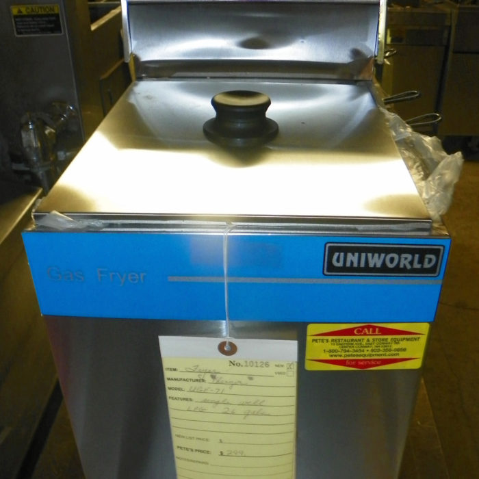 New Uni-World New Countertop Fryer - UGF-71