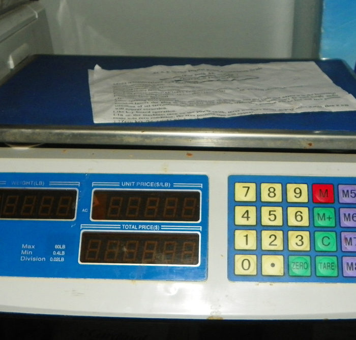 Used CAS Used 60# Computing Scale -