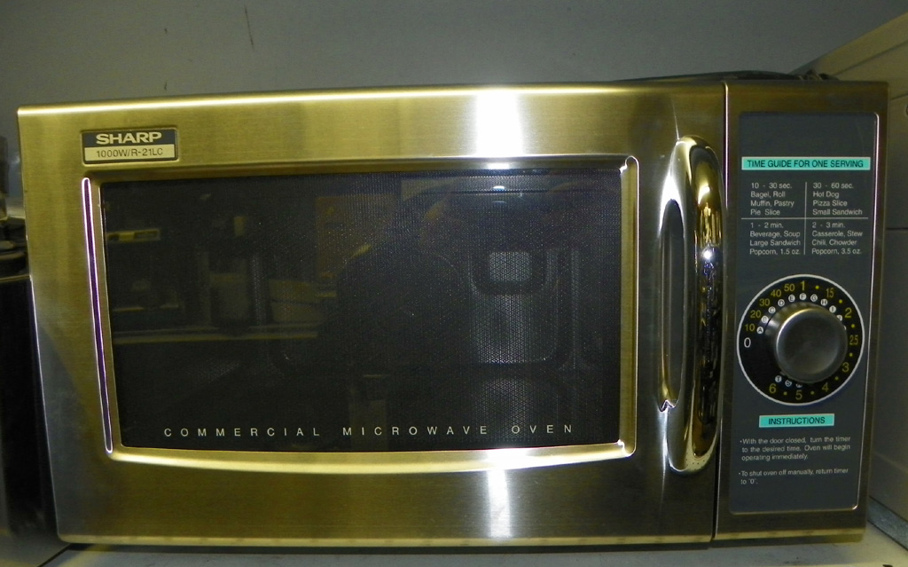 New Sharp 1000 W. Dial Microwave - 21LC