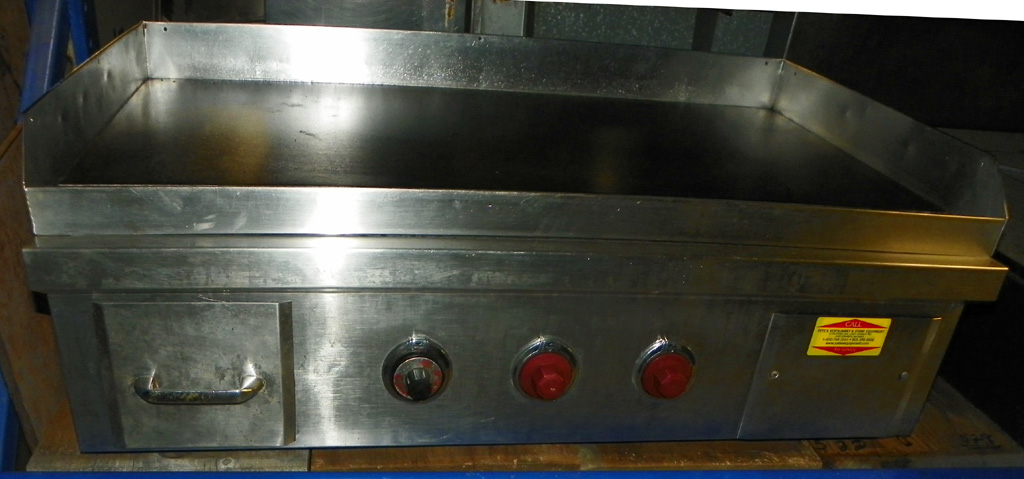 "Used Cecil Ware Used 36"" Cecil Ware Electric Griddle -"