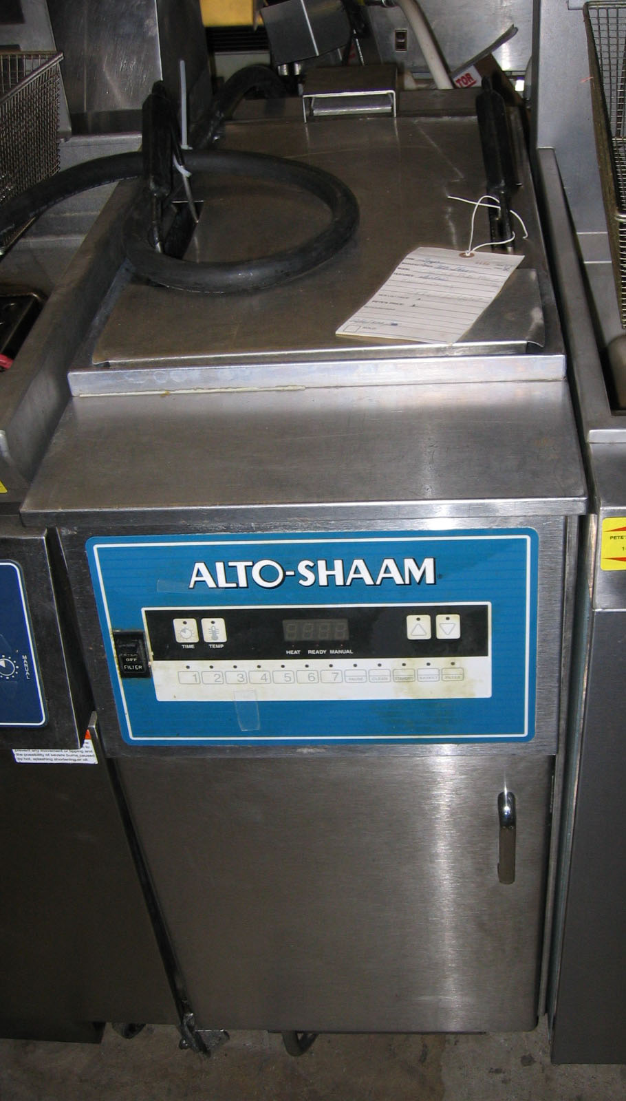 Used Alto Shaam Used Electric Floor Model Fryer Fae55fs