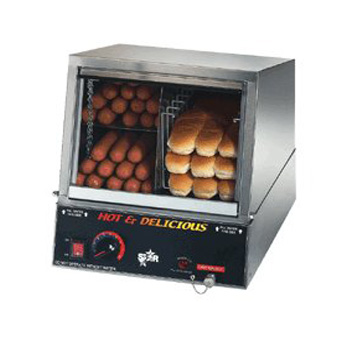 New Star New Star Hot Dog Steamer - 35SSA