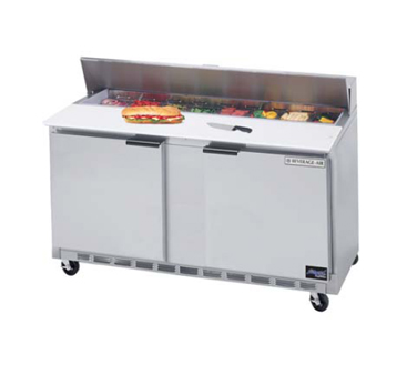 "New Beverage Air 60"" Sandwich Unit - SPE60-16"