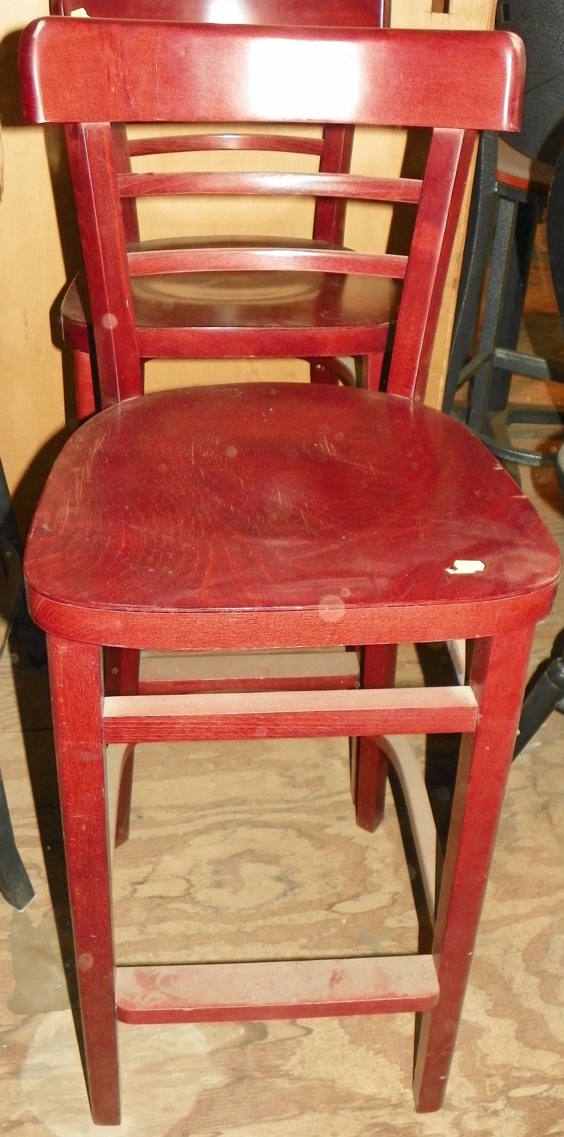 Swell Used 30 Wood Stool Onthecornerstone Fun Painted Chair Ideas Images Onthecornerstoneorg