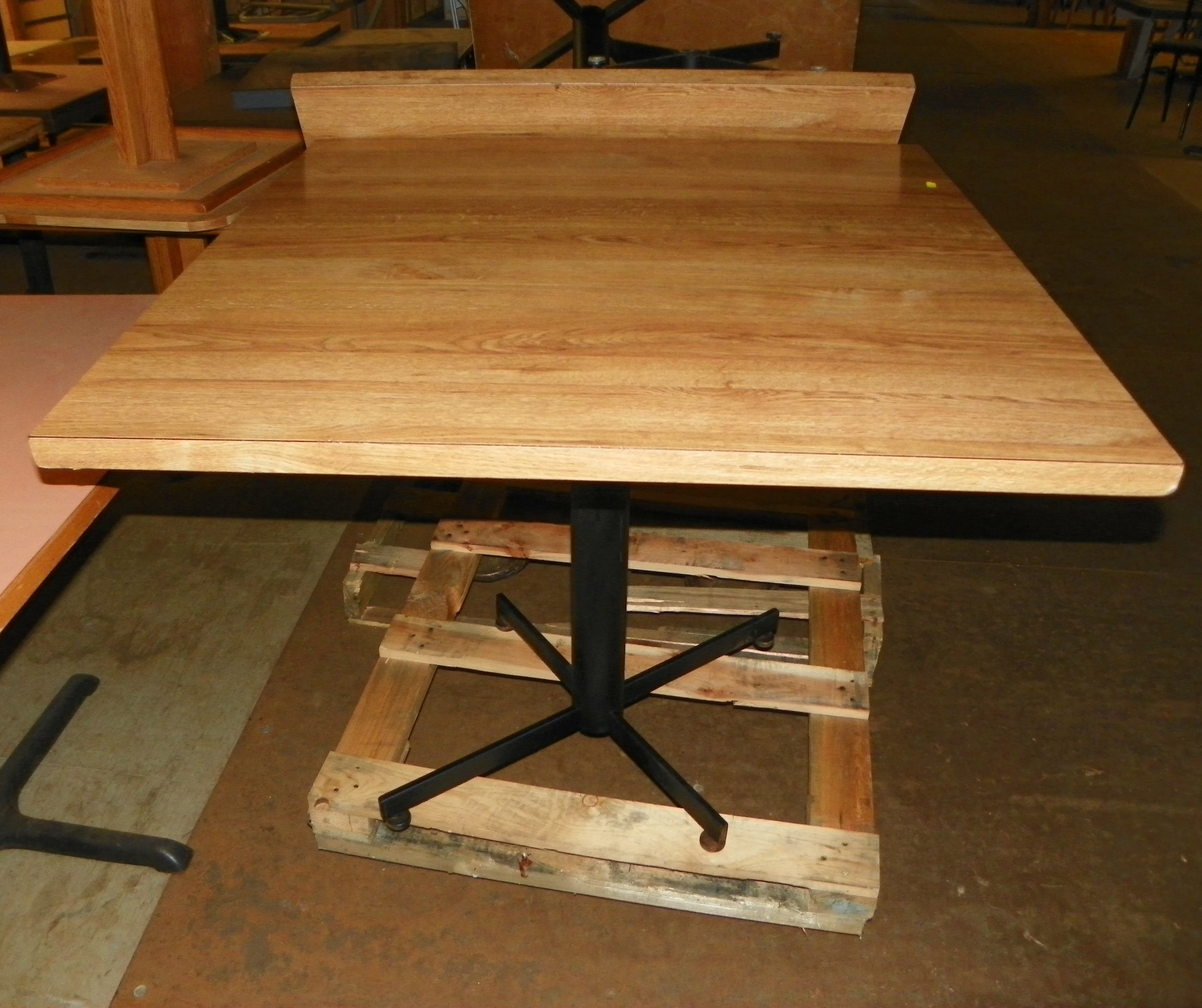 Used 36 X Laminated Wood Top Table